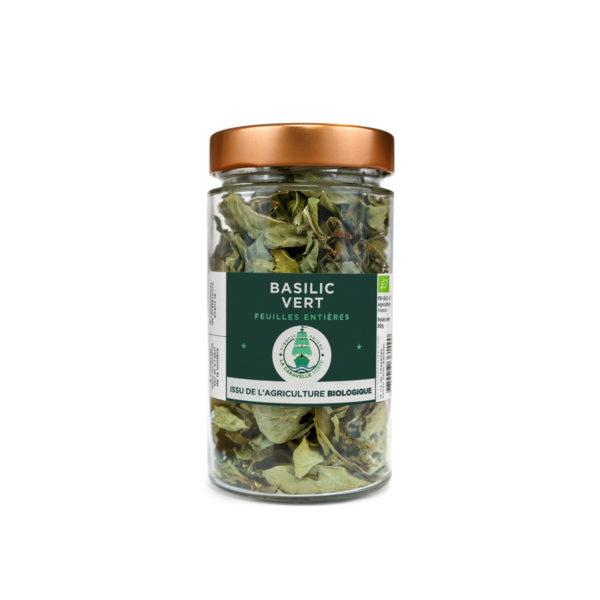 Pot basilic vert BIO