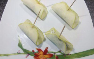 Barquettes pomme chèvre