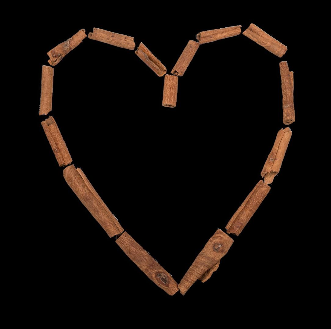 Coeur en cannelle