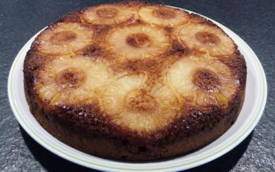 Gâteau épicé à l'ananas