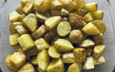 Pommes de terre au curcuma